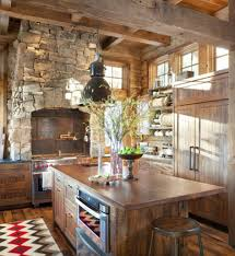 kitchen rustic style of country kitchen ideas rustic country