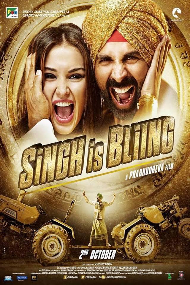 Singh Is Bliing (2015) Hindi 720p HEVC HDrip X264  650MB