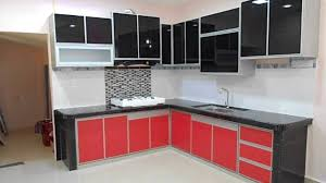Interior Fittings For Kitchen Cupboards by Fully Aluminium Kitchen Cabinet Review Youtube