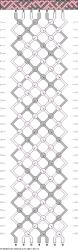 macrame-diagramas para hacer pulseras de hilo encerado