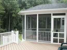 backyard decks and patios ideas screen porches screened porch u0026 composite decking screened