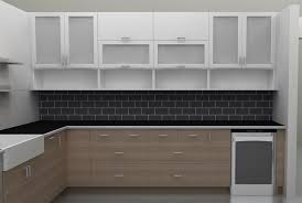 Kitchen Cabinet Glass Doors - Kitchen cabinet with glass doors