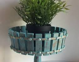 Shabby Chic Planters by Distressed Planters Etsy
