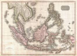 Southeast Map 10 Historical And Trade Route Maps Of Southeast Asia