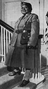 Hattie McDaniel a member of the AWVS  American Women     s Voluntary Services  during WWII
