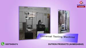 tensile testing machines by dutron products ahmedabad youtube tensile testing machines by dutron products ahmedabad