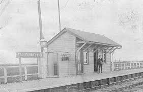 Tollesbury Pier railway station