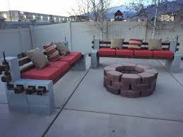 Free Outdoor Furniture Plans by Backyard Ideas Amazing Cinder Block Furniture Backyard Free