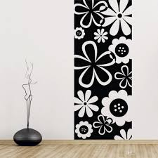 flower scenery background rain of petals wall stickers flower flower scenery background rain of petals wall stickers flower drawing carving vinly decration for living room home decoration wall art stickers vinyl wall