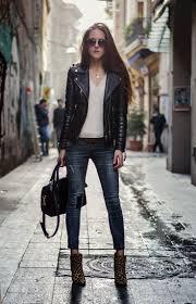 womens black leather biker boots 16 best women u0027s leather biker jackets images on pinterest