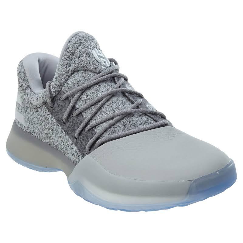 Adidas Harden Vol. 1 Grayvy Grey/White Big Kids Basketball Shoes BY3480