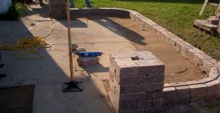 Fire Pit Pad by Concrete Pad Facelifts