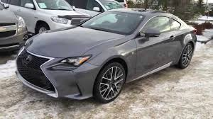 lexus rc coupe orange new grey on red 2015 lexus rc 350 2dr cpe awd review canada youtube
