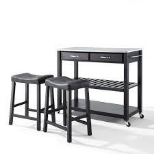 Crosley Furniture Kitchen Island 60 Stainless Steel Kitchen Chairs Steel Kitchen Table And Chairs