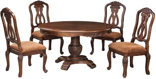 north shore round pedestal dining room set from ashley coleman