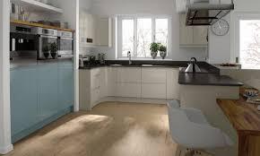 Handleless Kitchen Cabinets Tomba Contemporary Handleless Gloss White Door