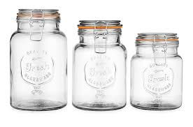 100 clear glass canisters for kitchen 11 clever and easy