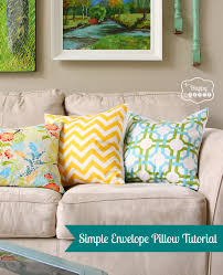 Homesense Cushions Simple Speedy And Stuffed A Sewing Tutorial For Diy Envelope