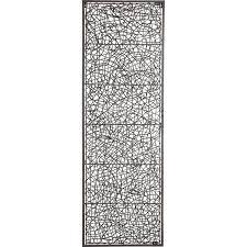 metal u0026 rattan wall decor pier 1 imports