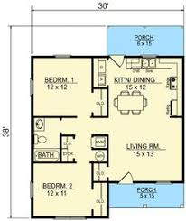 Small Cottage Floor Plan Small 2 Story 3 Bedroom Southern Cottage Style House Plan