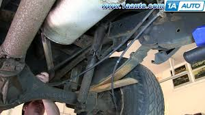 nissan titan quick lift rancho how to install replace rear shocks 2000 04 nissan frontier and