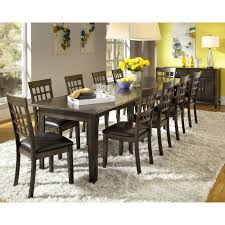 Discount Dining Room Sets Free Shipping by A America Toluca Rectangular Extension Dining Table Rustic Amber