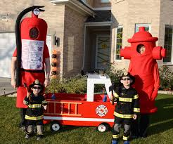 Family Of 3 Halloween Costume by Fight Fire Family Halloween Costumes