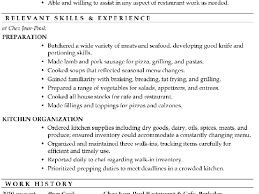 Wwwisabellelancrayus Magnificent Resume Sample Prep Cook With Extraordinary Need More Resume Help And Ravishing Create My Wwwisabellelancrayus     Isabelle Lancray