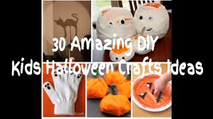 Halloween Witch Craft Ideas by 30 Amazing Easy To Make Kids Halloween Crafts Ideas Youtube