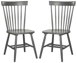 Safavieh Dining Room Chairs by Safavieh Parker Spindle Dining Chair Set Of 2 Country Dining