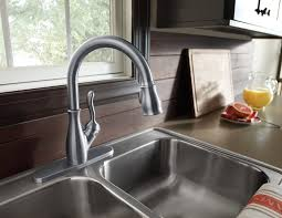 Kitchen Faucet Brass Best Pull Down Kitchen Faucet Design Ideas With Images Brass