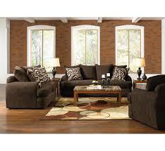 santa cruz brown 14pc living room group badcock more living room furniture