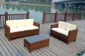 White Wicker Outdoor Patio Furniture by Wicker Outdoor Furniture Sets U2013 Wplace