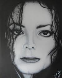 MJ Painting by Darrell Marks - MJ Fine Art Prints and Posters for Sale - mj-darrell-marks