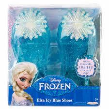 disney frozen elsa icy blue shoes walmart com
