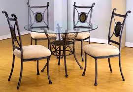 Swivel Dining Room Chairs Bedroom Pretty Brown Round Dining Room Table Set Circle Chairs