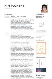Law Resume Samples by Legal Resume Samples Visualcv Resume Samples Database