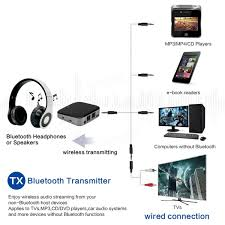 home theater bluetooth transmitter bti 029 bluetooth v4 1 receiver transmitter adapter 2 in 1 audio