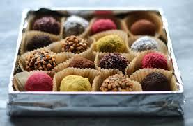 edible christmas u0026 new years gifts u2013 chocolate and date truffles