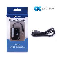 home theater bluetooth transmitter proxelle wireless portable bluetooth transmitter connected to 3 5