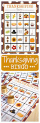 thanksgiving vocabulary pictures thanksgiving bingo crazy little projects