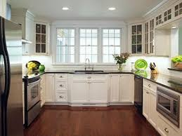 Remodeled Kitchens With White Cabinets by Best Kitchen Design For Small U Shaped Kitchen My Home Design
