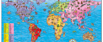 Kids World Map Win A World Map Jigsaw Puzzle National Geographic Kids