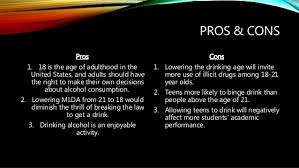Legalizing the Drinking Age to      menpros com  Legalizing the Drinking Age to