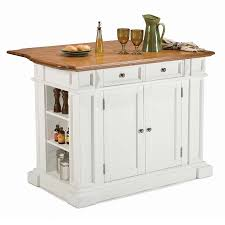 shop kitchen islands carts at lowes com home styles white farmhouse kitchen island