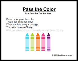 25 color songs ideas toddler circle