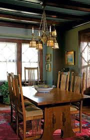 mission style furniture dining chairs and table and mission
