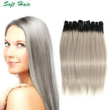 Grey Human Hair Extensions by Grey Hair Clip In Extensions Grey Hair Clip In Extensions