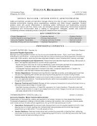 sample resume for program manager sample resume templates for office manager medical office manager sample resume templates for office manager medical office manager resume
