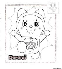 dorami doraemon sb0b4 coloring pages printable